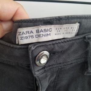 Zara Basic - Z1975 Denim - Grey Skinny Jeans